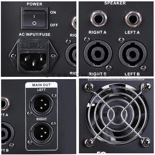4 Channel Audio Mixer/Amplifier