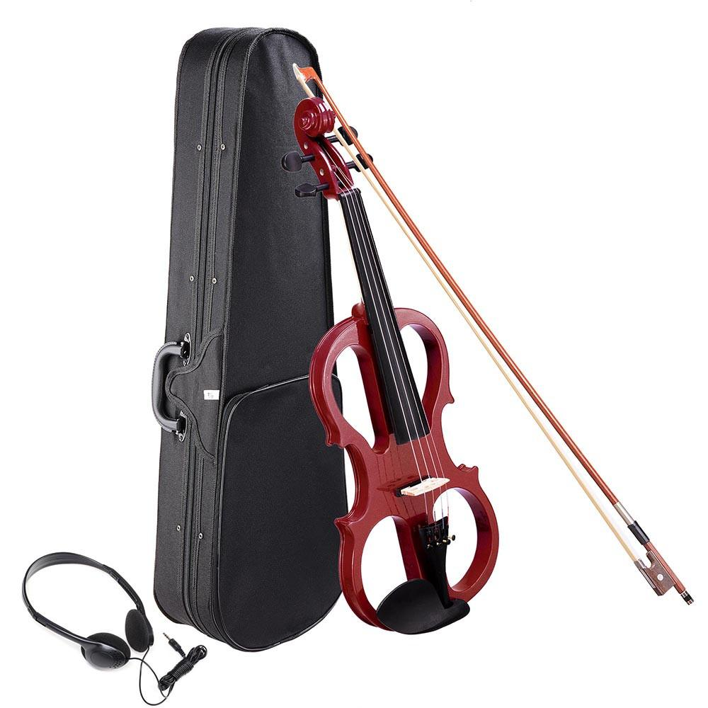 4/4 Electric Violin with Case & Headphones