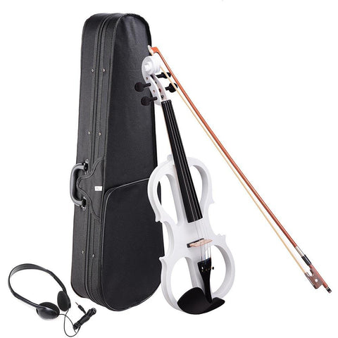 4/4 Electric Violin w/Case & Headphones