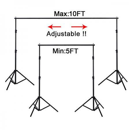 Image of Portable Photography Backdrop Kit