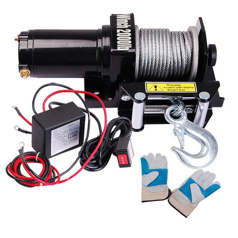 Image of 2000Lb Electric Winch