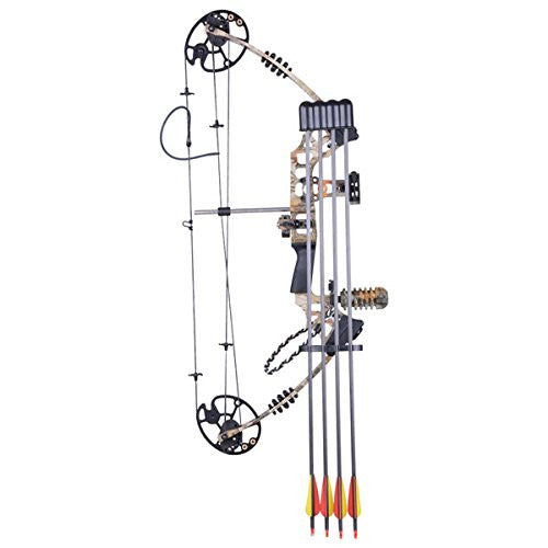 Archery Bow with 12 Carbon Arrows