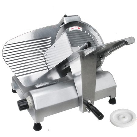 "Image of Commercial Grade with 12"" Blade Electric Meat Slicer Deli Cutter Butcher Equipment"
