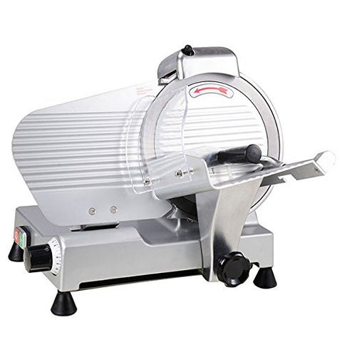 "Image of High Quality 10"" Blade Electric Meat Slicer - Butcher Equipment"