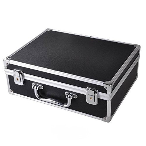 Professional Tattoo Starter Kits Case For 2 Tattoo Machines With Lock and Key