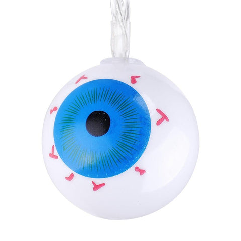 Image of 6½ ft. Halloween Eyeball Lights