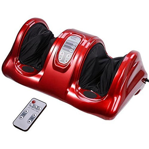 Image of Foot Leg Massager  Kneading and Rolling Calf Ankle with Remote
