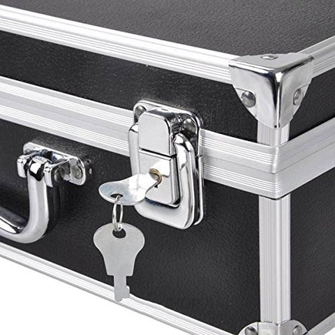 Image of Professional Tattoo Starter Kits Case For 2 Tattoo Machines With Lock and Key