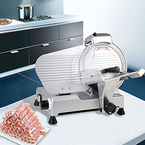 "High Quality 10"" Blade Electric Meat Slicer - Butcher Equipment"