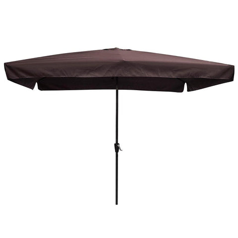10' x 6.5' Rectangular Tilt Patio Umbrella