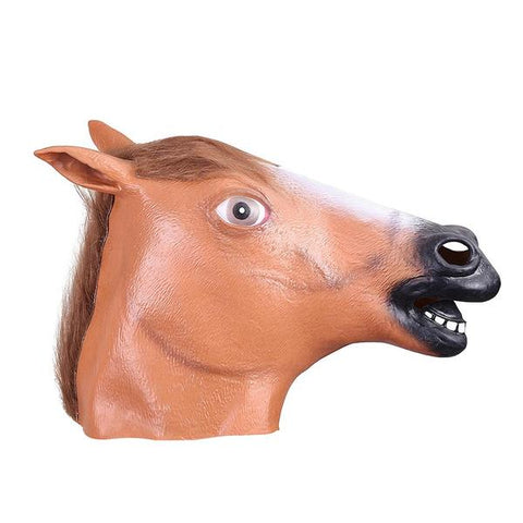 Image of Brown Horse Mask