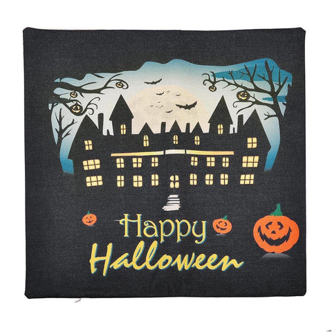 Image of Halloween Throw Pillow Covers (4-Pack)