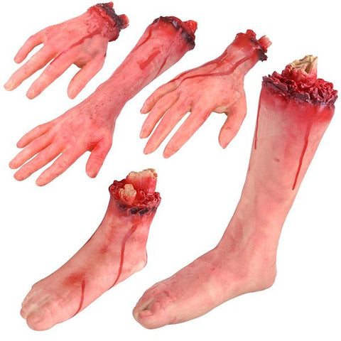 Image of Severed Hands and Feet (5pc)
