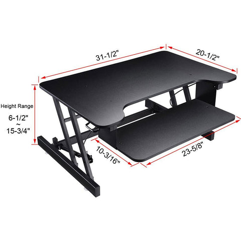 Image of Desktop Riser - Black