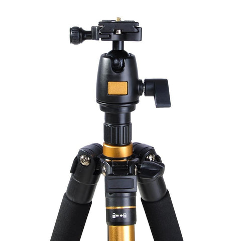 "Image of Adjustable Pro 60"" Tripod Monopod with Ball Head For DSLR Camera Travel Aluminum"