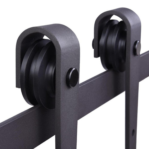Image of 6' Barn Door Sliding Track & Hardware