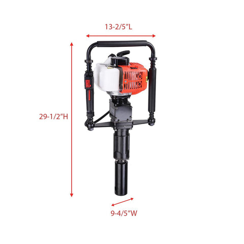30cc Gas Powered Demolition Jackhammer Power Drill