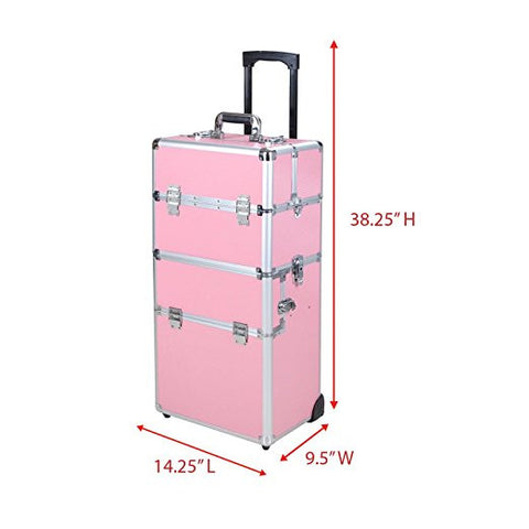 Image of Professional Rolling Cosmetic Makeup Organizer