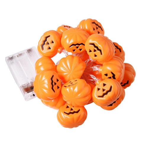 11 Ft. Halloween Pumpkin Lights Decor