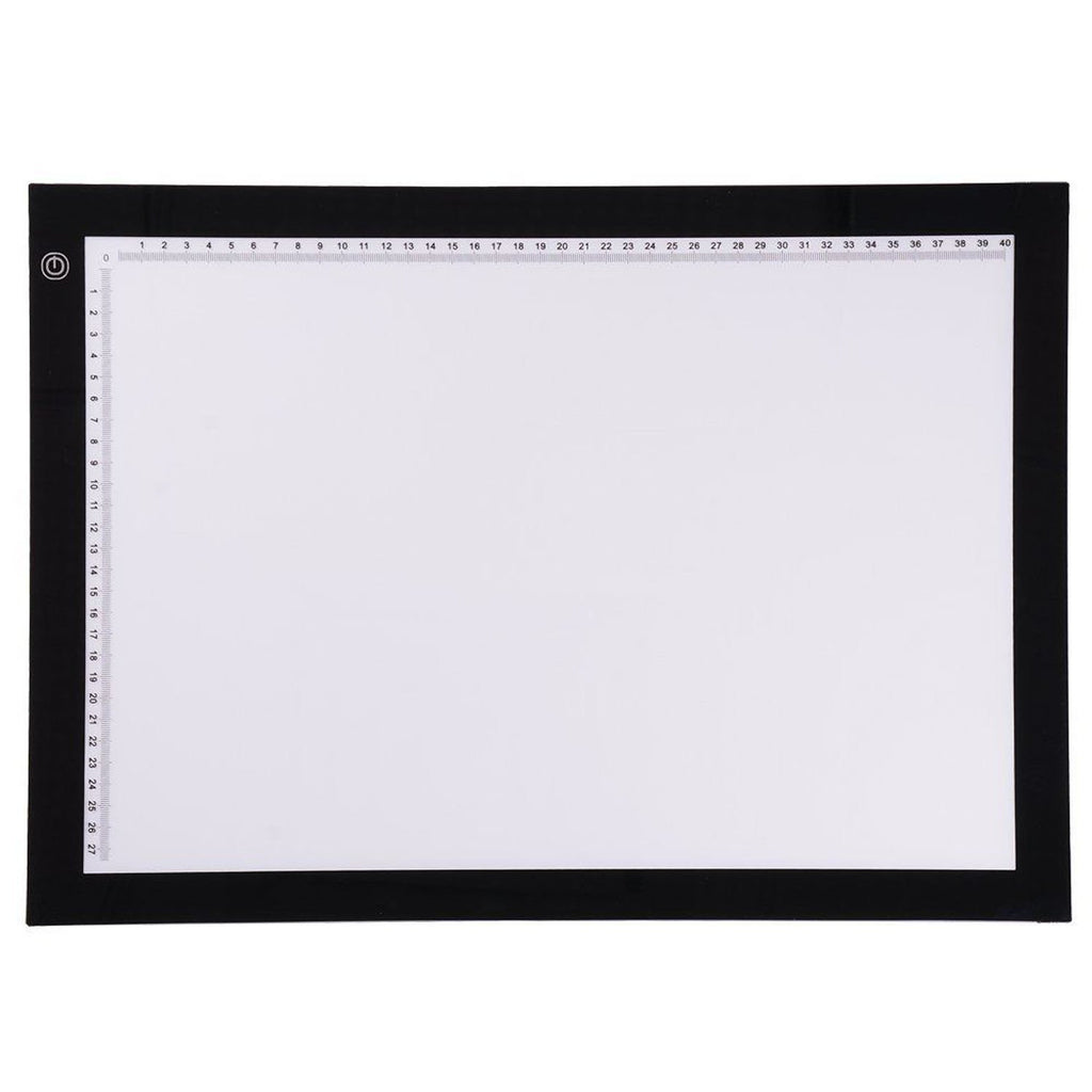 "14""/19"" Tracing Light Box Drawing Pad"