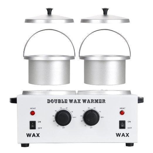 Double Pot Wax Warmer