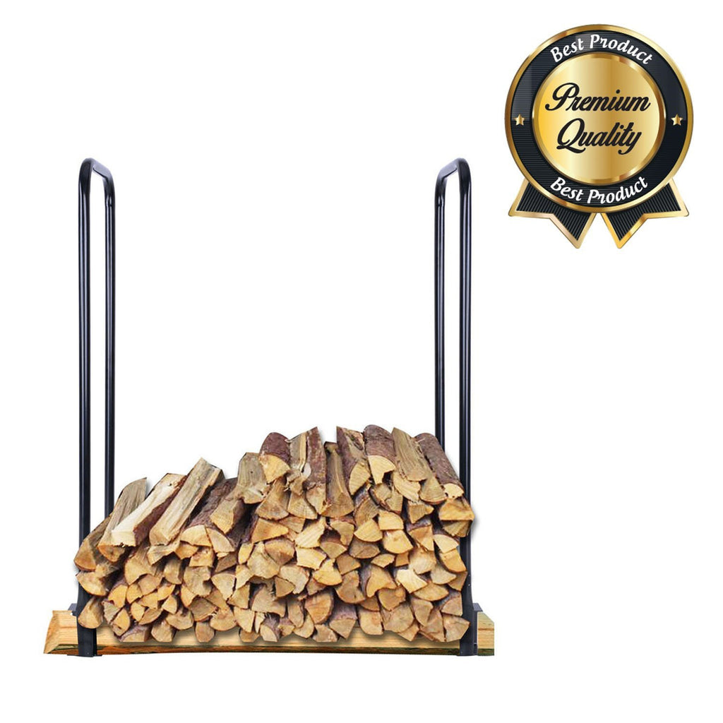 Outdoor Firewood Storage Rack