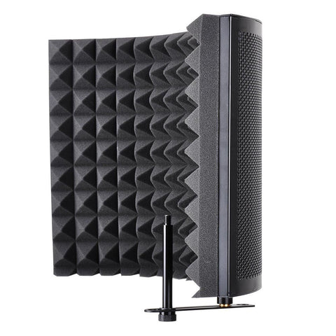 2-Fold Microphone Acoustic Foam Panel