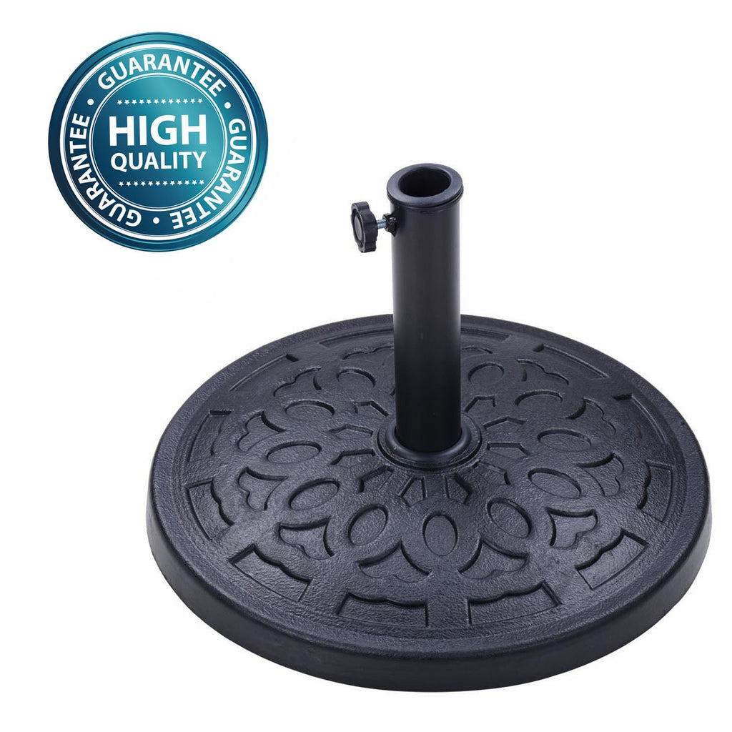 European Patio Umbrella Base Stand