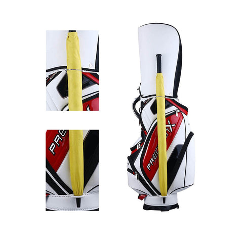 5-Way Golf Stand & Carry Bag Clubs Storage