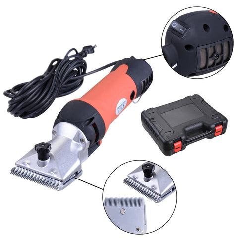 Image of 350W Electric Horse Clipper Shearing Groomer