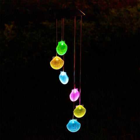 Solar Wind Chime Décor