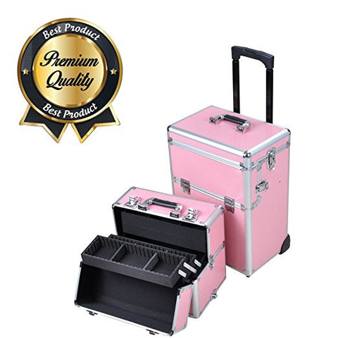 Professional Rolling Cosmetic Makeup Organizer