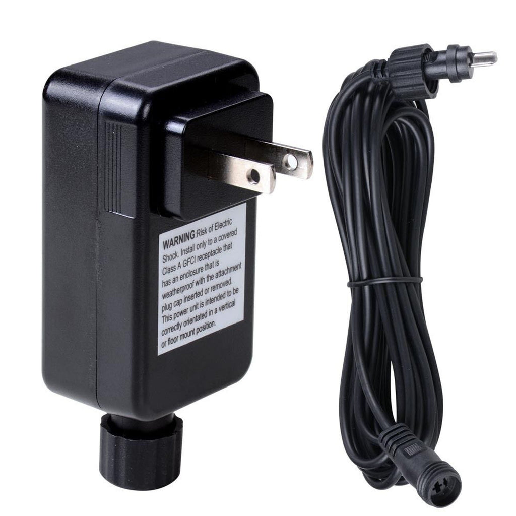 Deck Lighting 12V Adapter Transformer Power Cable