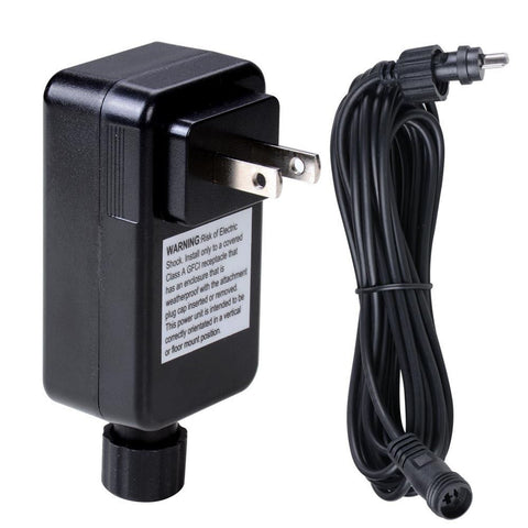 Image of Deck Lighting 12V Adapter Transformer Power Cable