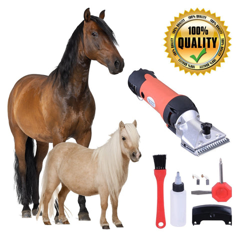 350W Electric Horse Clipper Shearing Groomer