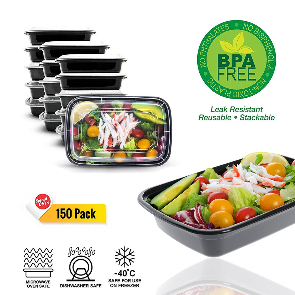 Meal Prep Containers - 150 Pack