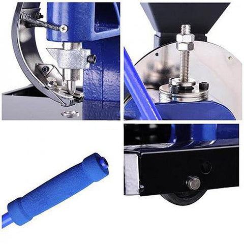 Image of Semi-automatic Grommet Machine #2 Eyelet Grommets Tool Kit