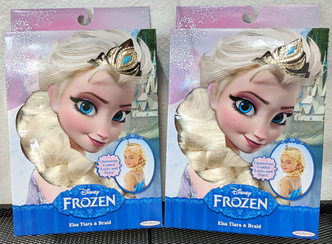 Image of Disney Frozen Elsa Tiara & Braid