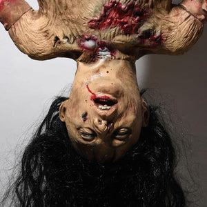 Halloween Prop Limbless Hanging Woman with Hair