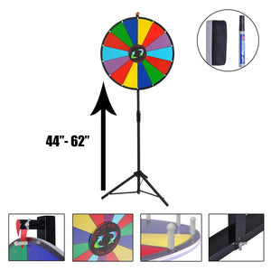 "24"" Dry Erase Prize Wheel with Tripod"