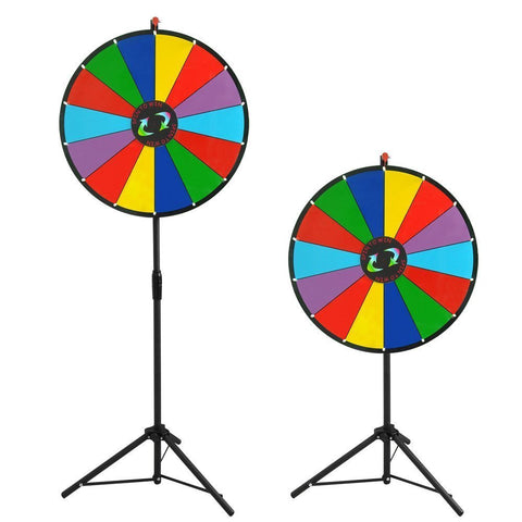 "Image of 24"" Dry Erase Prize Wheel with Tripod"