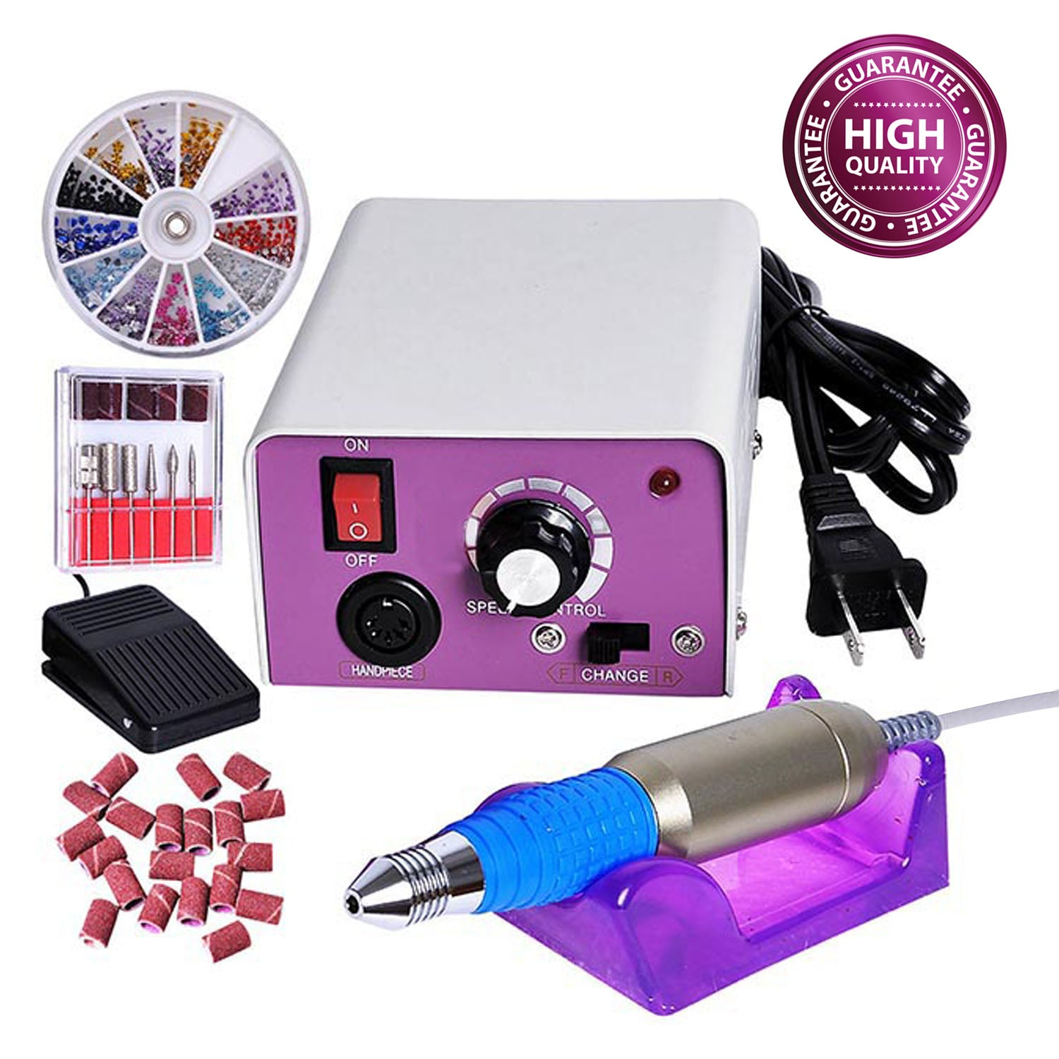 Electronic Nail File Machine Kit | Koval Inc.