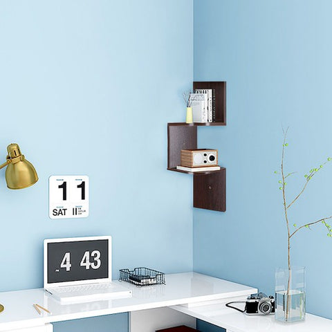 Image of Zigzag Corner Shelf