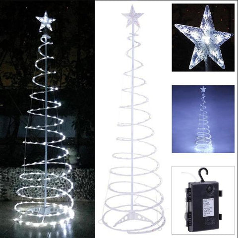 Image of Spiral Light Indoor/Outdoor Christmas Trees (5FT / 6FT)