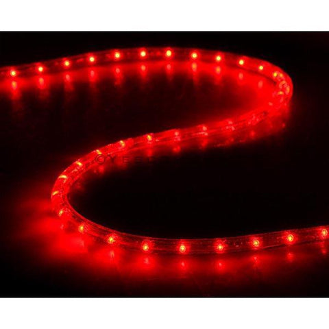 Image of DELight Holiday Lighting LED Rope Light Spool 150ft – Red
