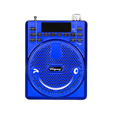 Ridgeway BS-565 Portable FM Radio Rechargeable Mini Voice Amplifier with Mic