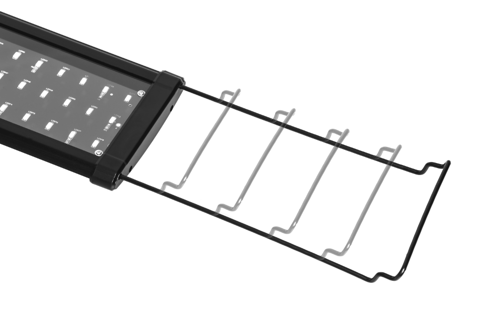 Extendable LED Aquarium Light Bracket