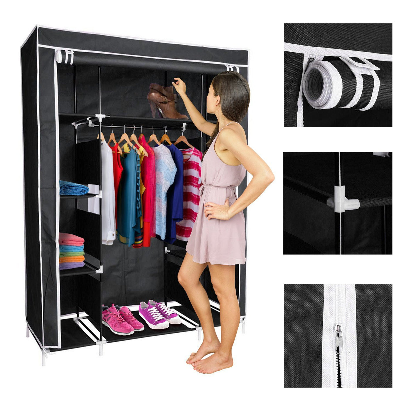 com seen boot amazon with butler organizer clean hanging rachael on rack as jl your assemble closets dp up ray closet floor easy to storage built by