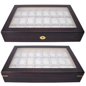 24-Watch Case Display Storage