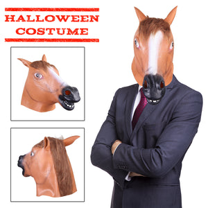 Brown Horse Mask
